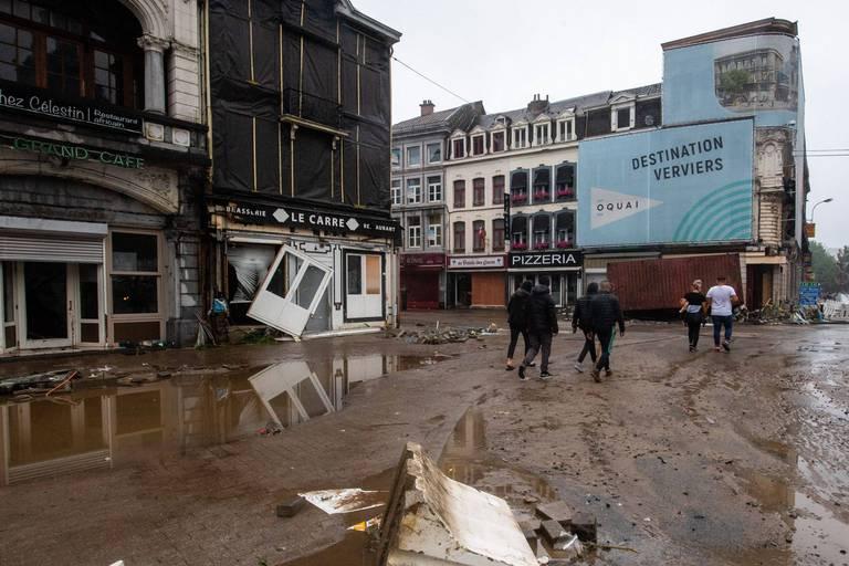 """15.000 Verviétois à la recherche d'un logement: """"La Seconde Guerre mondiale n'a pas provoqué autant de dégâts dans la ville"""""""