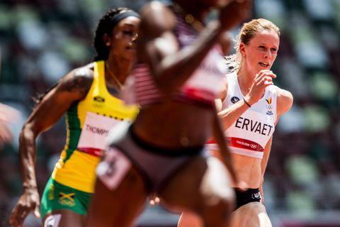Athlétisme: Imke Vervaet se qualifie pour les demi-finales du 200m