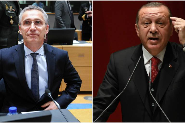 """Le chef de l'Otan présente ses excuses à la Turquie après un """"incident"""" en Norvège"""