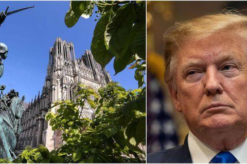 Donald Trump veut aider à reconstruire Notre-Dame