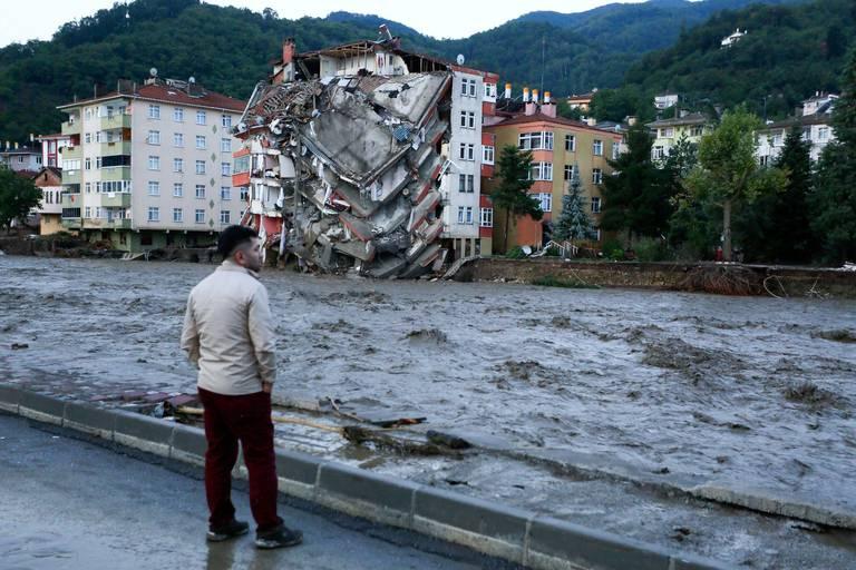 Inondations en Turquie : le bilan grimpe à 17 morts