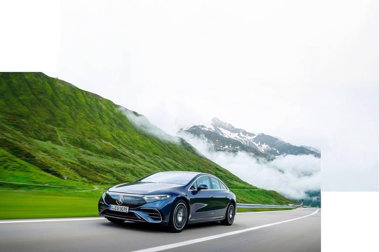 The new EQS from Mercedes-EQ: Press Test Drive, Switzerland 2021 The new EQS from Mercedes-EQ: Press Test Drive, Switzerland 2021
