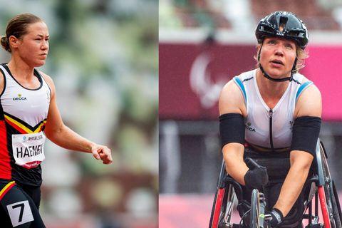 """Jeux paralympiques: Pas de finale pour Gitte Haenen au 100m, des """"sentiments très mitigés"""" pour Joyce Lefevre au 800 mètres"""