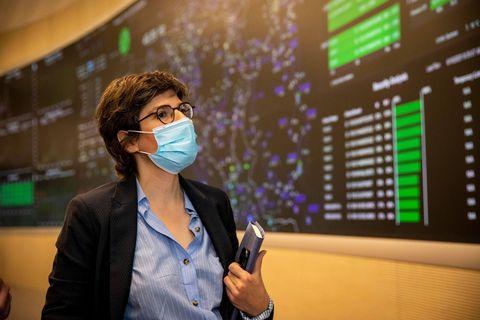 La ministre de l'Énergie Tinne Van der Straeten (Groen).