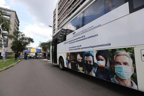 Le Vacci bus prend ses quartiers à Saint-Josse jusqu'au 30 septembre