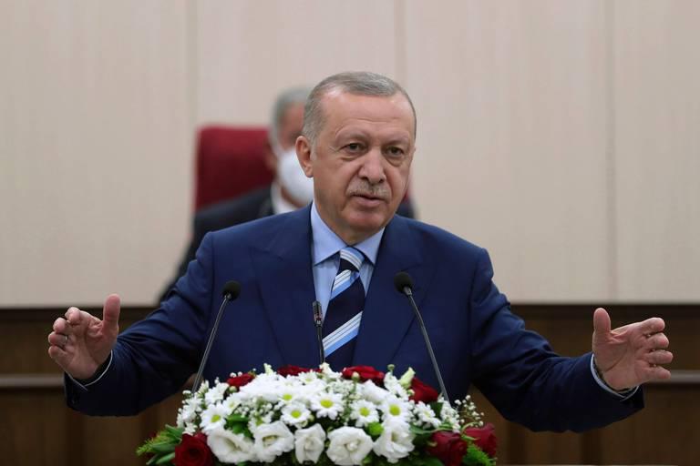 """L'UE condamne les """"annonces inacceptables"""" du président turc sur Chypre"""