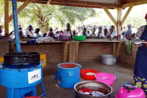 C'est la rentrée des cantines scolaires au Kivu