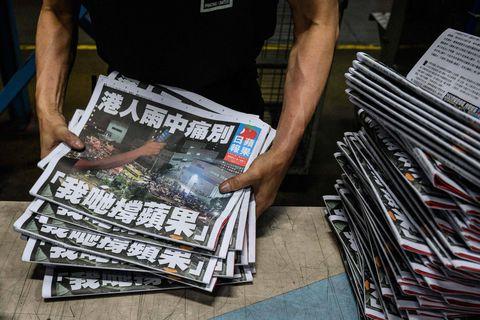 Edito : Un jour de honte à Hong Kong