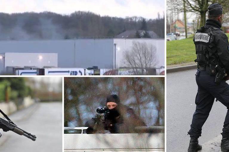 Charlie Hebdo: Les frères Kouachi tués dans l'assaut à Dammartin, l'otage est indemne