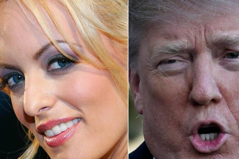 """Stormy Daniels dira """"tout"""" de sa liaison avec Trump dans un livre"""