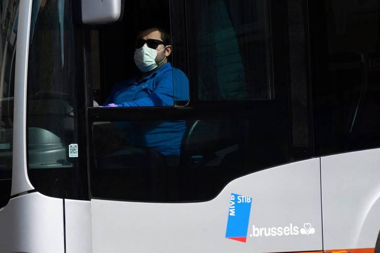 Vie quotidienne a Bruxelles en confinement.