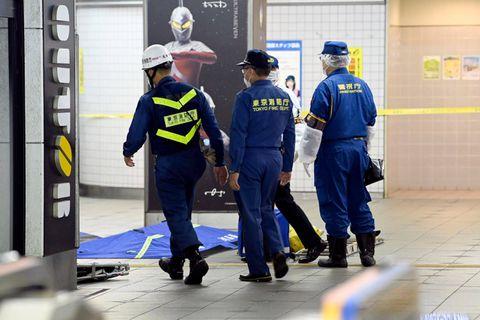 Attaque au couteau dans un train à Tokyo, neuf blessés