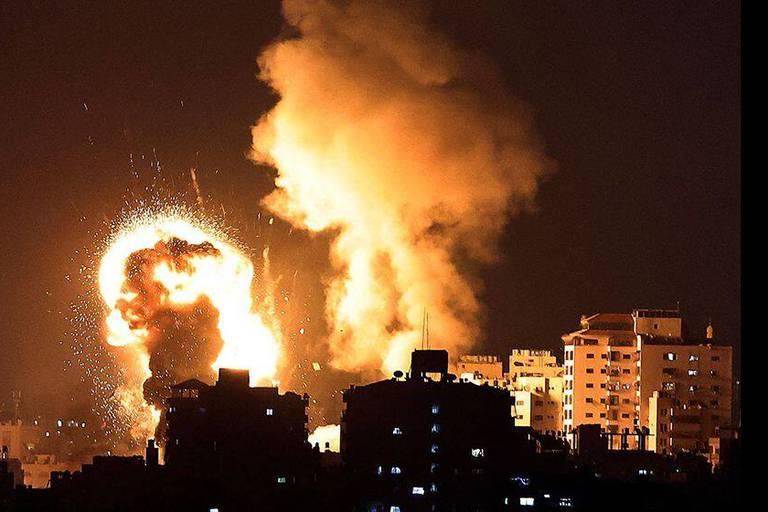 Non, cette photo n'illustre pas une frappe du Hamas sur Israël