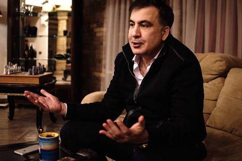 Interview - Mihail Saakashvili - 29/01/2018 - Kiev, Ukraine.