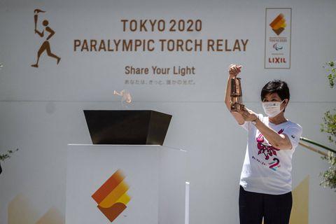 Jeux Paralympiques 2020 : arrivée de la flamme à Tokyo, record de cas de Covid-19