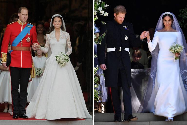 Meghan Markle ou Kate Middleton : voici la robe de mariée la plus populaire de la dernière décennie