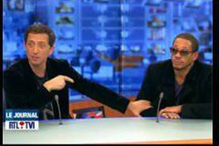 Joey Starr perturbe le Jt de RTL