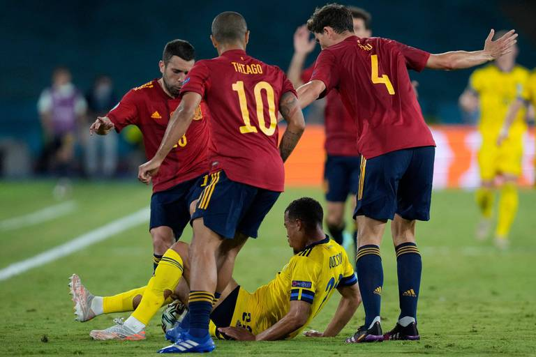 L'Espagne et la Pologne se quittent dos-à-dos et réalisent la mauvaise opération dans le Groupe E (1-1)