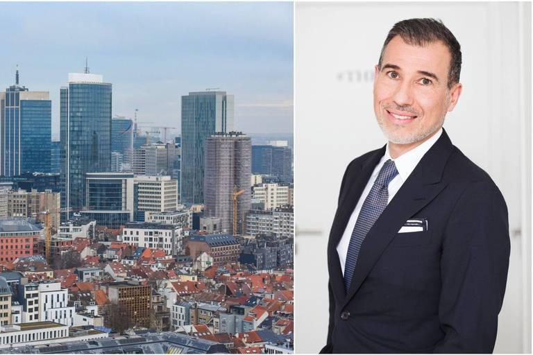 """""""Bruxelles se targue d'un immobilier de grande qualité, de très beaux hôtels particuliers, à des prix beaucoup plus abordables que ceux des grandes métropoles"""", analyse Laurent Demeure, président de Coldwell Banker Europa."""