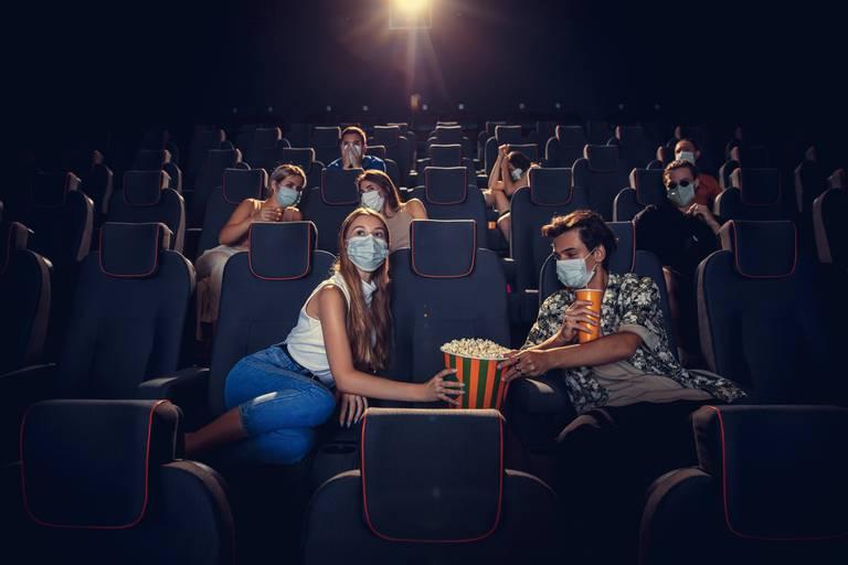 Cinema,,Movie,Theatre,During,Quarantine.