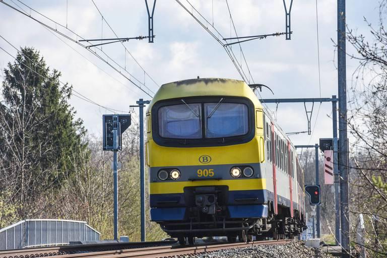 Le trafic ferroviaire partiellement suspendu à Bruges