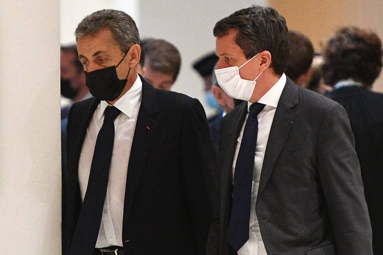 Nicolas Sarkozy nie toute responsabilité devant les juges