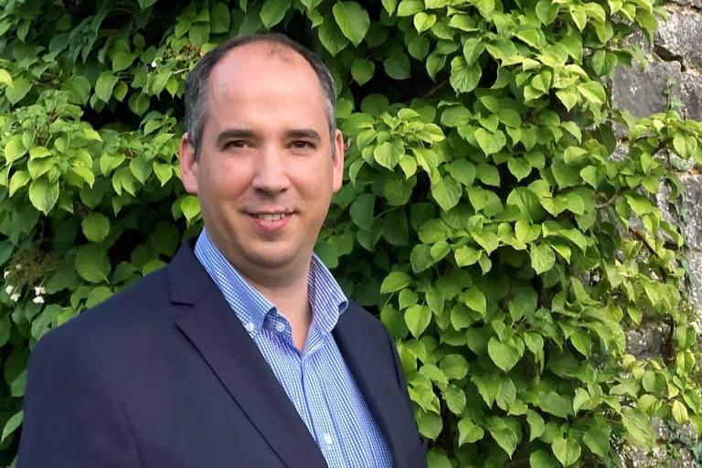 """Gregory Stevens, gestionnaire de projets immobiliers et auteur de l'ouvrage """"Le CEO et son projet immobilier""""."""