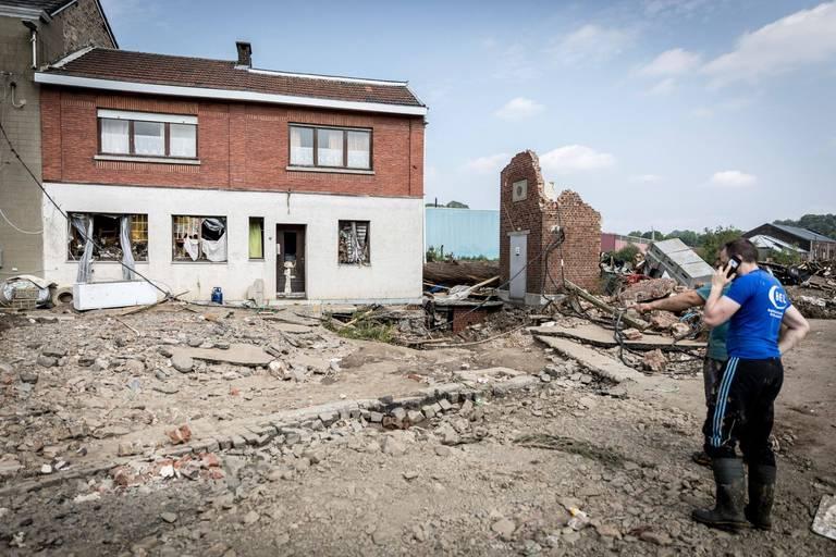Toutes les rues sinistrées en province de Liège de nouveau raccordées à l'électricité