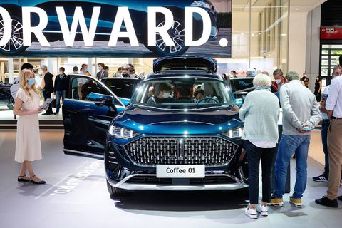 """""""Coffee"""" est le nom provisoire du SUV de Wey, qui va d'ailleurs soumettre à un vote la future appellation de son modèle."""