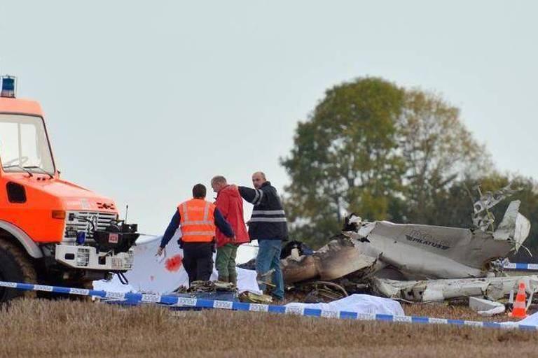 Crash d'un avion de parachutistes: le pire drame aérien depuis 1961