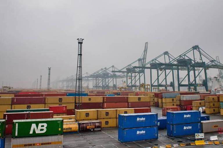 Le port d'Anvers menacé