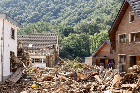Inondations : l'Allemagne va consacrer 30 milliards d'euros à la reconstruction