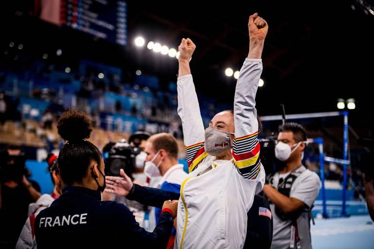 Nina Derwael écrit l'une des plus belles pages de l'histoire du sport belge
