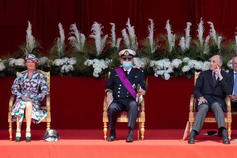 """""""Je me suis demandé ce que je faisais là"""" : le prince Laurent revient sur le défilé du 21 juillet"""