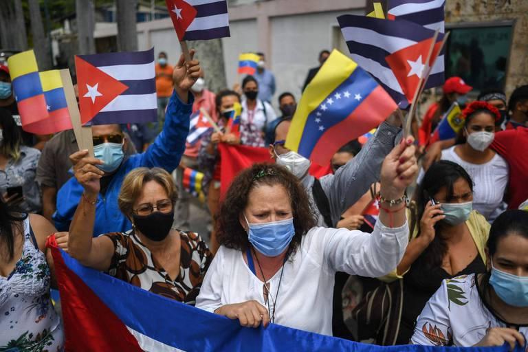 """Venezuela: une véritable """"guerre"""" entre police et gangs durant trois jours à Caracas"""