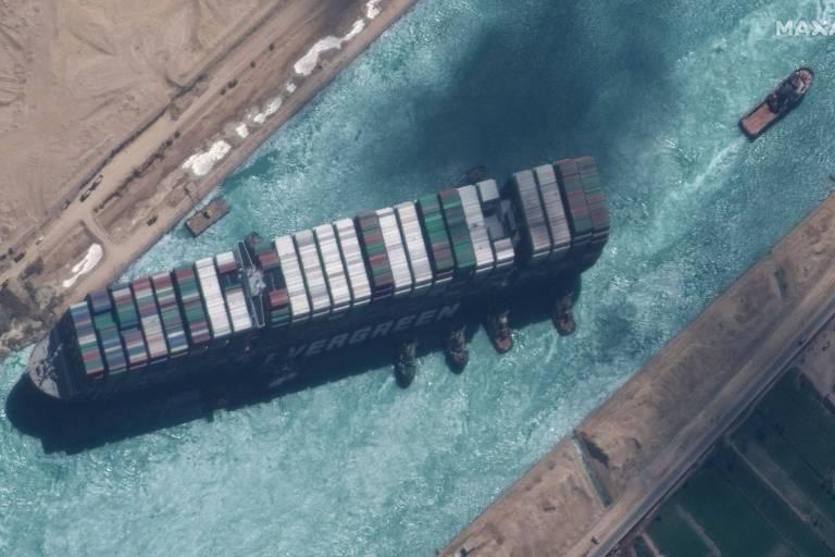 Un accord trouvé pour relâcher mercredi le navire ayant bloqué le canal de Suez