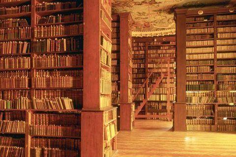 The university ancient Library. City of Graz. Styria. Austria
