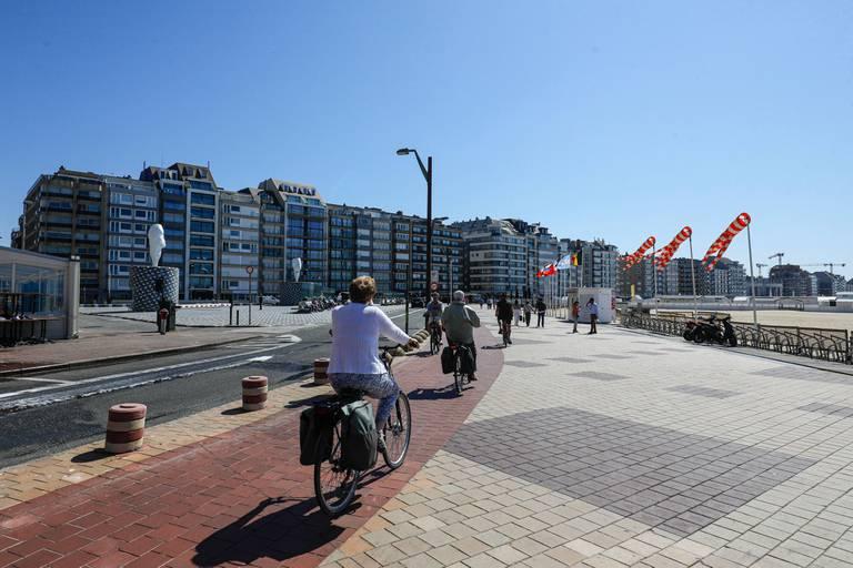 Knokke reste la commune la plus chère en termes de prix moyens des appartements.