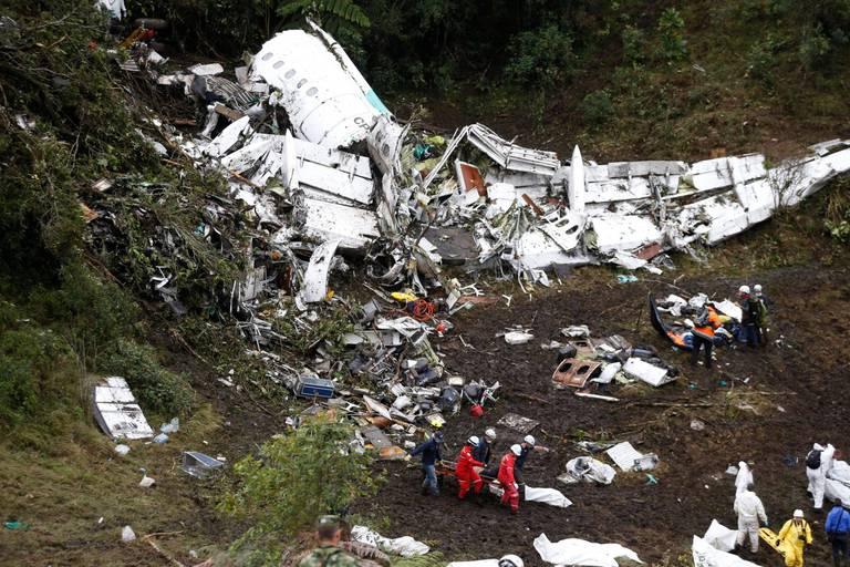 La police brésilienne arrête une Bolivienne dans l'enquête du crash de Chapecoense