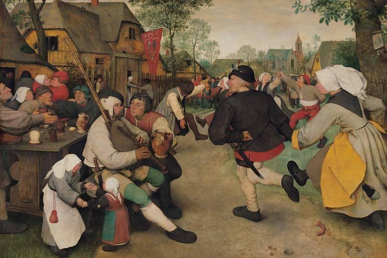 Les détails de Bruegel et du Caravage