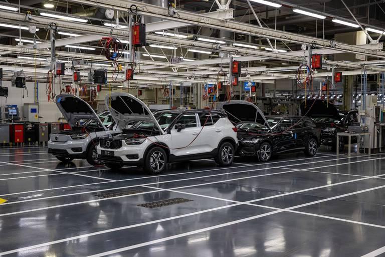 Plusieurs centaines de travailleurs en arrêt chez Volvo Car à Gand