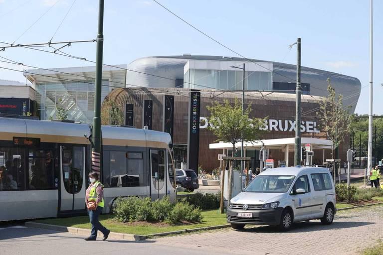 Un homme en trottinette décède après être passé sous un tram à Bruxelles