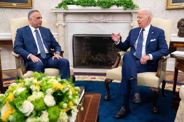 """Les Américains cesseront leur """"mission de combat"""" en Irak d'ici la fin de l'année, déclare Biden"""
