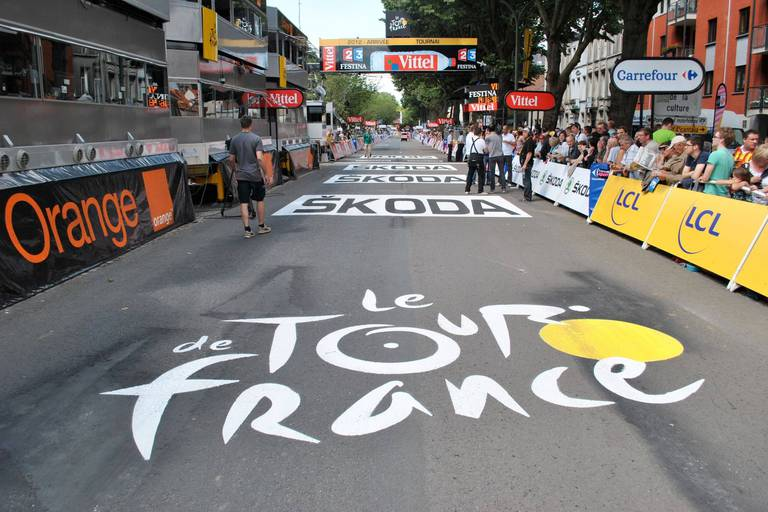 Dix ans après, Tournai tiendrait la corde pour un départ d'étape au Tour de France 2022 !