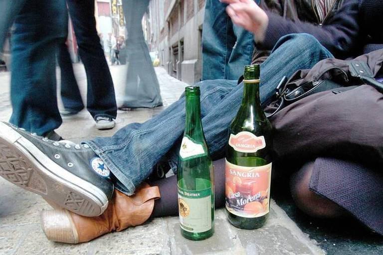 Interdiction de vente d'alcool aux mineurs d'âge.