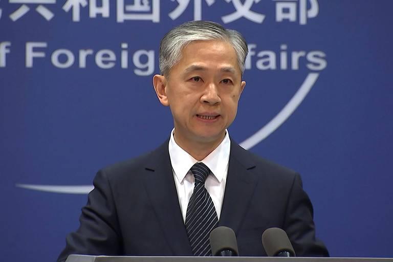 Wang Wenbin, un porte-parole du ministère chinois des Affaires étrangères.