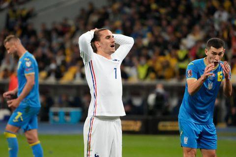 La France à nouveau accrochée en Ukraine (1-1)