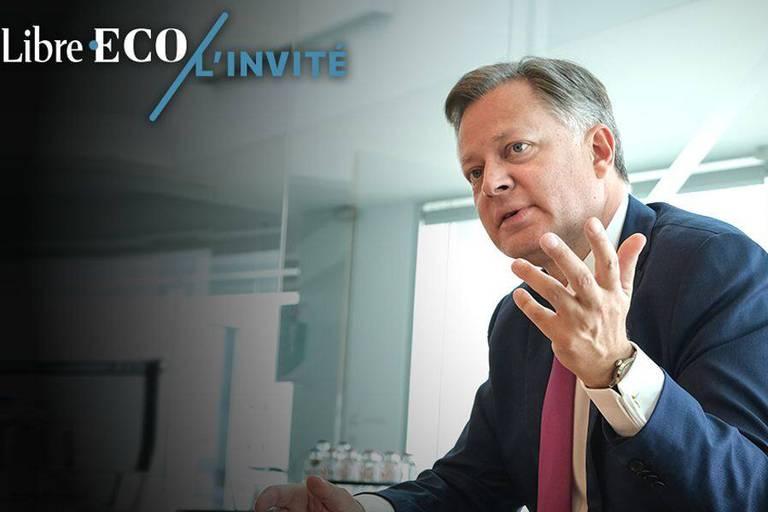 """Arnaud Feist (CEO de Brussels Airport): """"Sans les aides d'État accordées aux compagnies pour faire face à la crise du Covid-19, ça aurait été le chaos total"""""""
