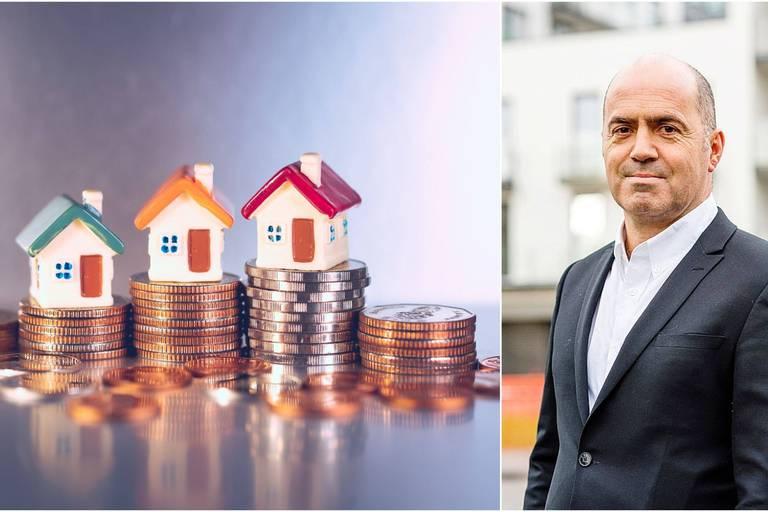 """La ruée sur le marché de l'immobilier joue aussi sur celui des prêts hypothécaires : """"Début 2021, les taux ont été à un plus bas jamais observé"""""""