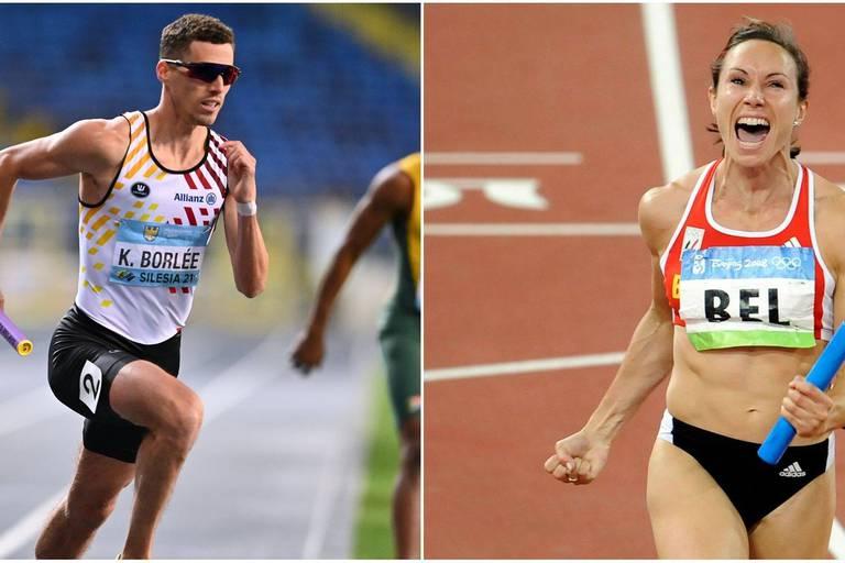 """Kim Gevaert et Kévin Borlée, la passion du relais en commun: """"Les médailles, ce sont des moments qui définissent une carrière"""""""